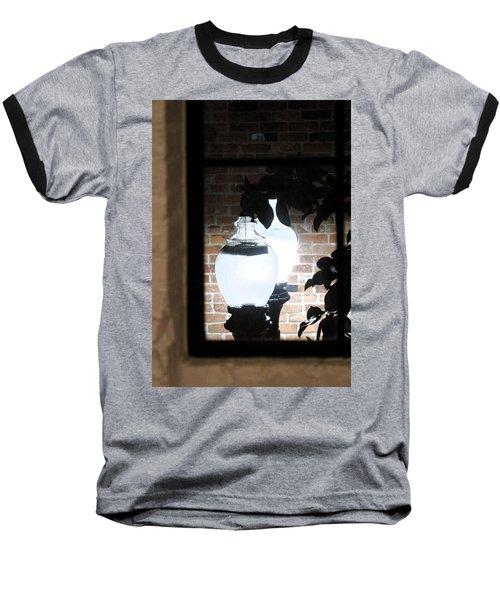 Street Light Through Window Baseball T-Shirt by Viktor Savchenko