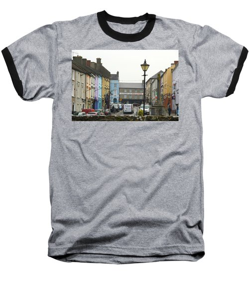 Baseball T-Shirt featuring the photograph Streets Of Cahir by Marie Leslie