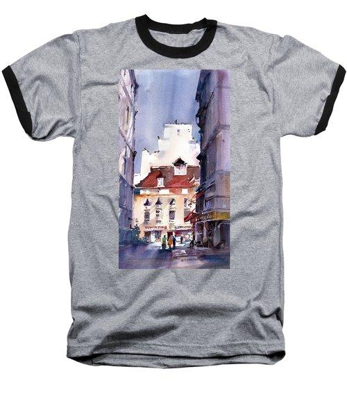Parisian Stroll Baseball T-Shirt