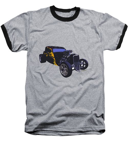 Street Rod What Is It Baseball T-Shirt