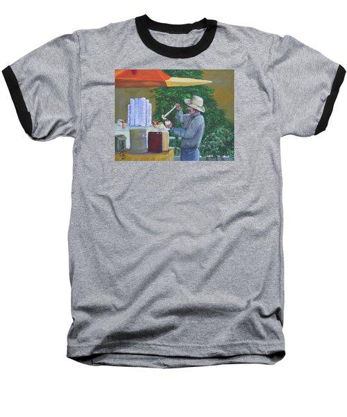 Street Vendor Baseball T-Shirt