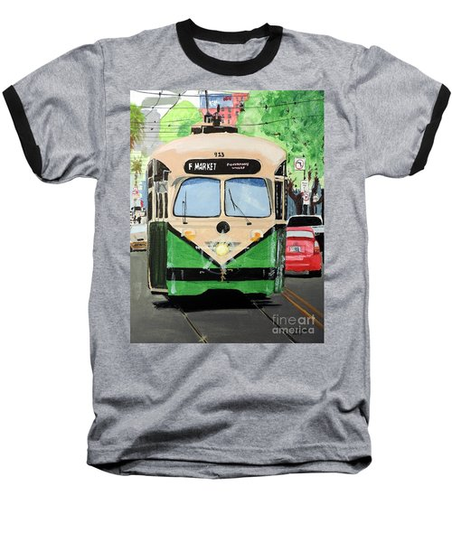 Streetcar Not Named Desire Baseball T-Shirt by Tom Riggs