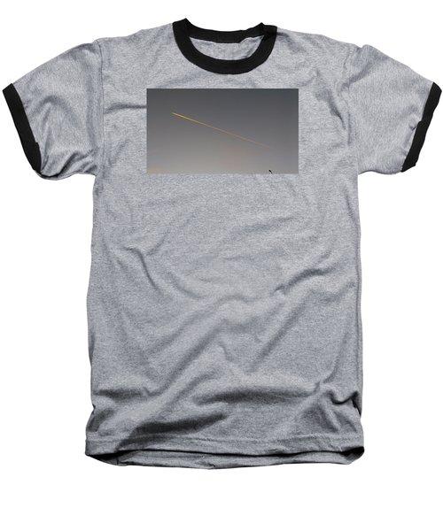 Streetlight Baseball T-Shirt by Mark Alan Perry