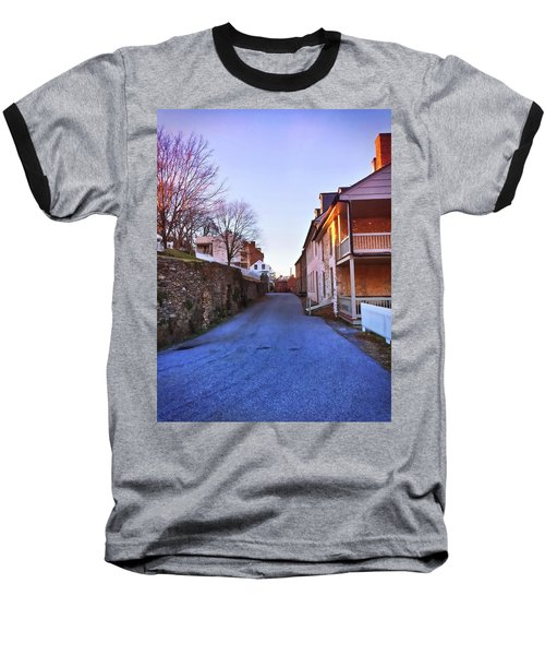 Streets Of Harpers Ferry Baseball T-Shirt