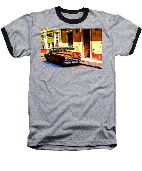Streets Of Havana Baseball T-Shirt