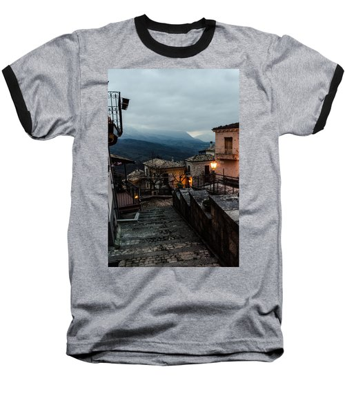 Streets Of Italy - Caramanico 3 Baseball T-Shirt