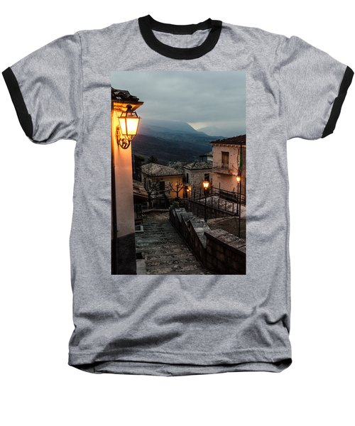 Streets Of Italy - Caramanico Baseball T-Shirt