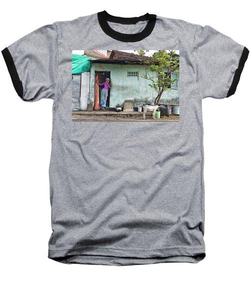 Streets Of Kochi Baseball T-Shirt