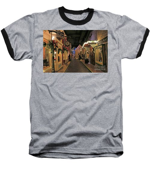 Streets Of Old Milwaukee Baseball T-Shirt