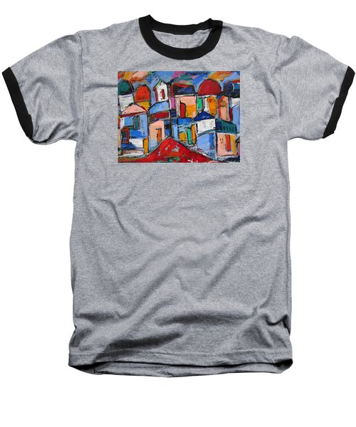 Streets Of Rome Baseball T-Shirt