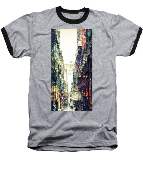 Streetscape 1 Baseball T-Shirt