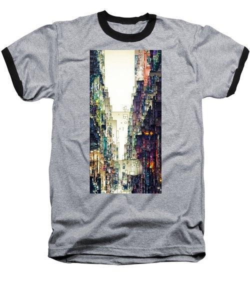 Streetscape 1 Baseball T-Shirt