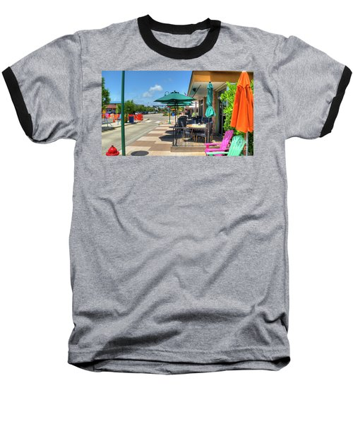 Streetside Dining Baseball T-Shirt