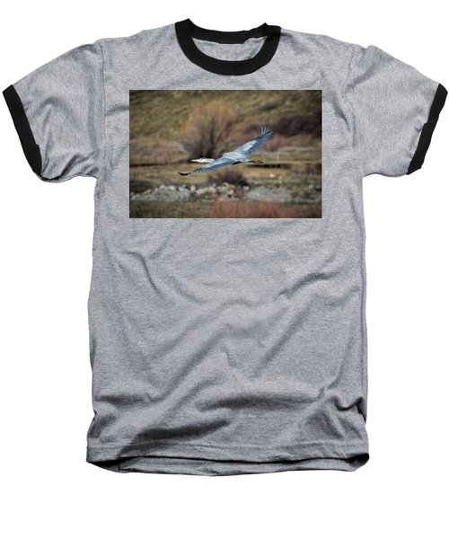 Stretched Wide Open Baseball T-Shirt