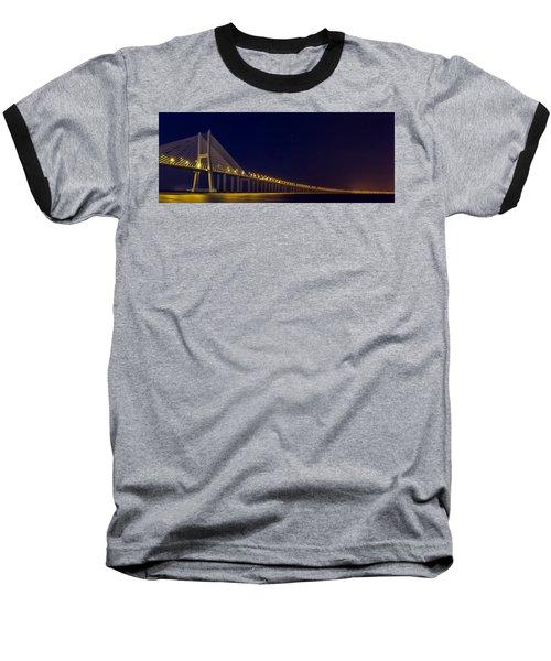 Stretching Into Infinity Baseball T-Shirt