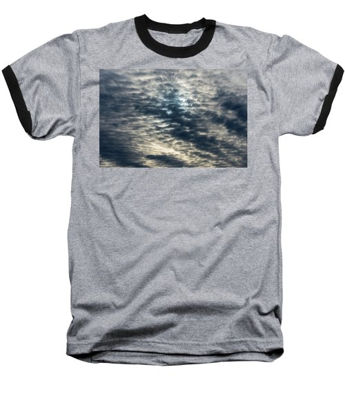 Striated Clouds Baseball T-Shirt