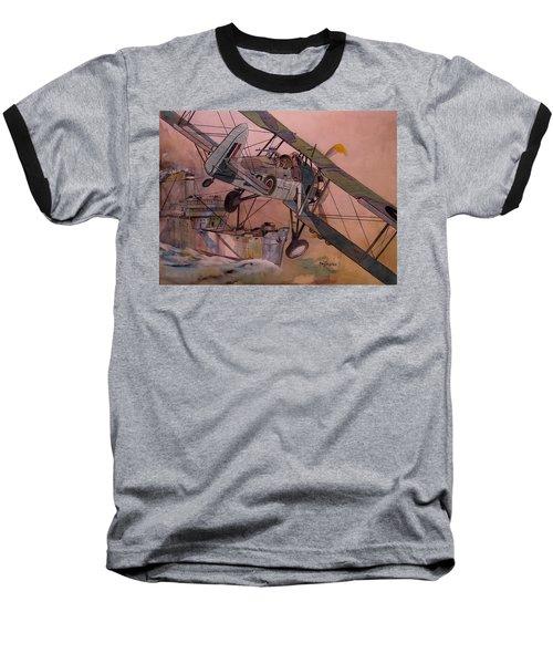 String Bag. Baseball T-Shirt by Ray Agius