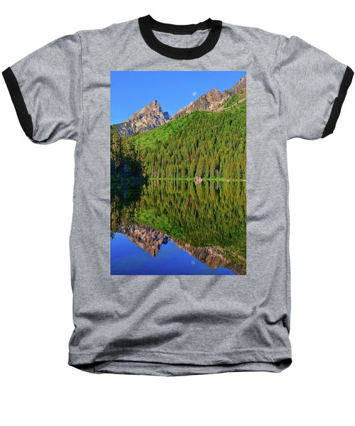 String Lake Morning Mirror Baseball T-Shirt by Greg Norrell