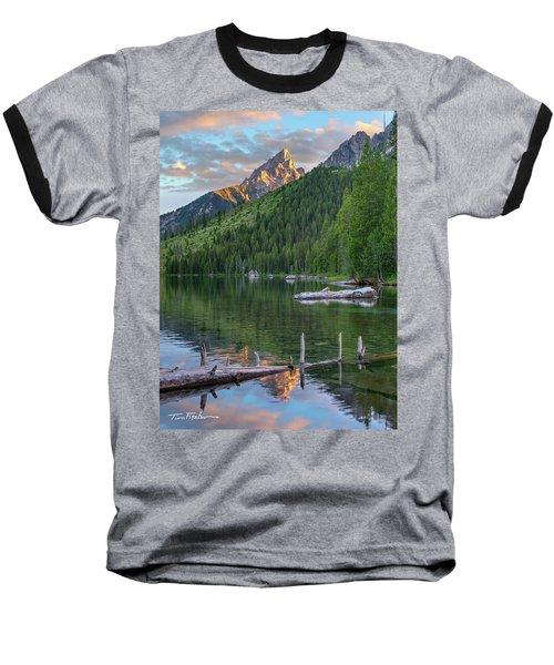 String Lake Baseball T-Shirt by Tim Fitzharris