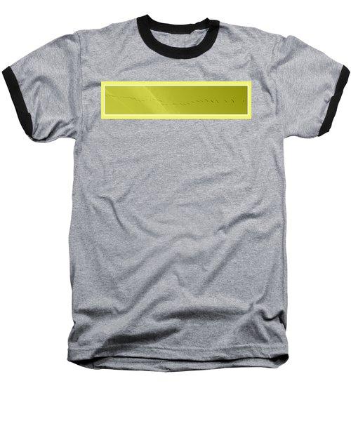 String Of Birds In Yellow Baseball T-Shirt