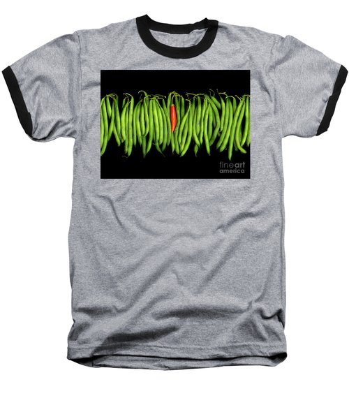 Stringbeans And Chilli Baseball T-Shirt