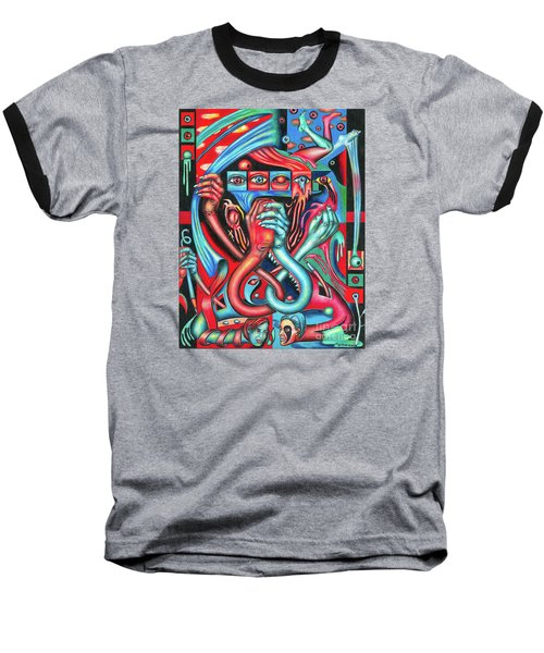 Striving For An Equilibrium Baseball T-Shirt
