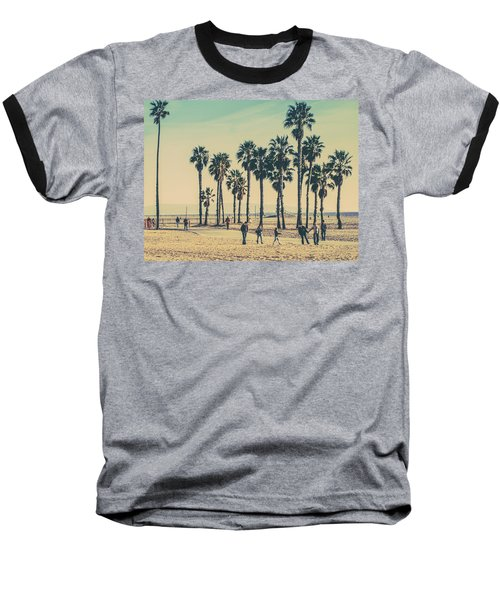 Stroll Down Venice Beach Baseball T-Shirt