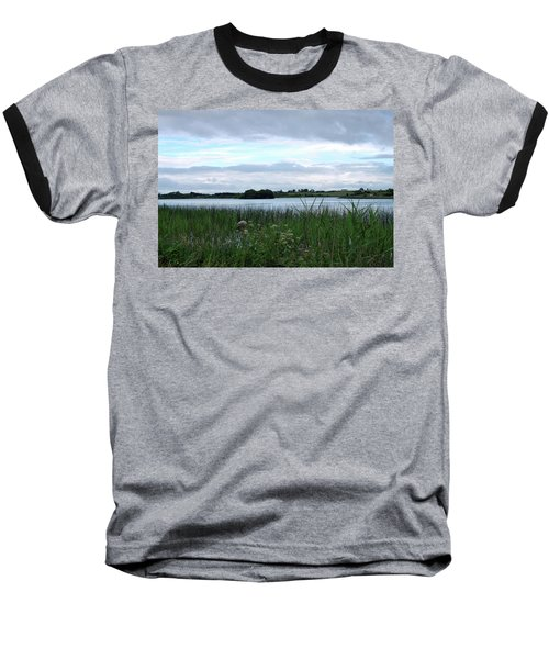 Baseball T-Shirt featuring the photograph Strolling By The Lake by Terence Davis