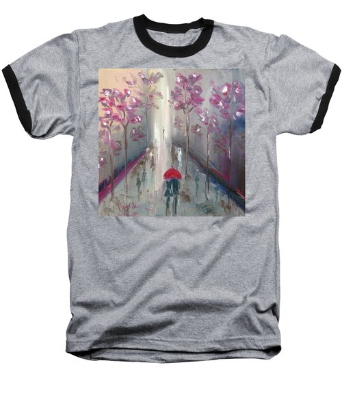 Strolling Baseball T-Shirt by Roxy Rich