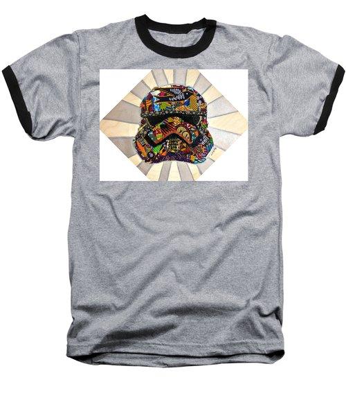 Strom Trooper Afrofuturist  Baseball T-Shirt