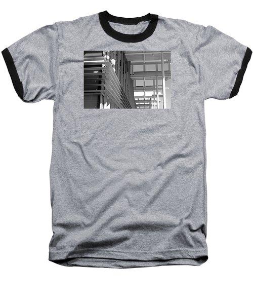 Structure Abstract 2 Baseball T-Shirt