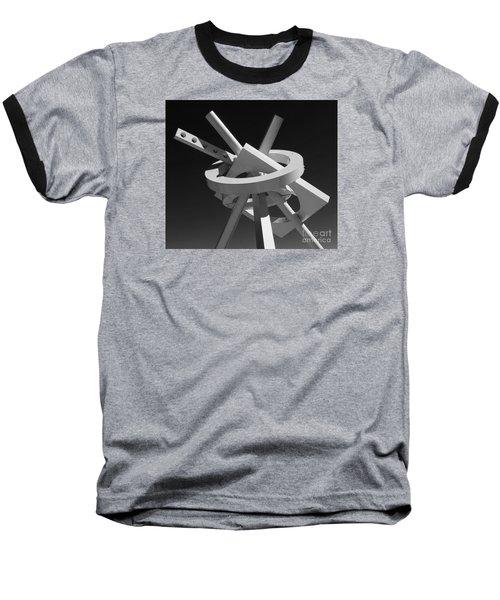 Structure Abstract 5 Baseball T-Shirt