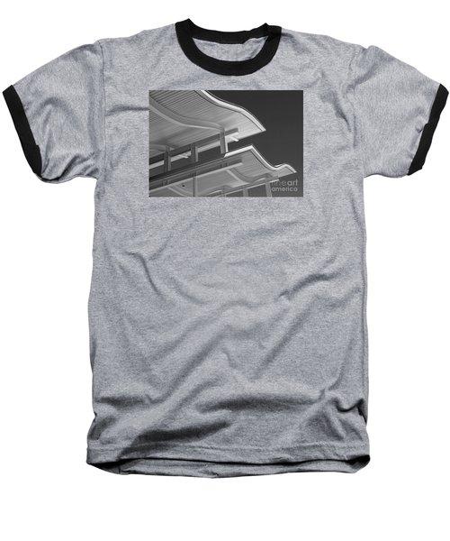 Structure Abstract 6 Baseball T-Shirt