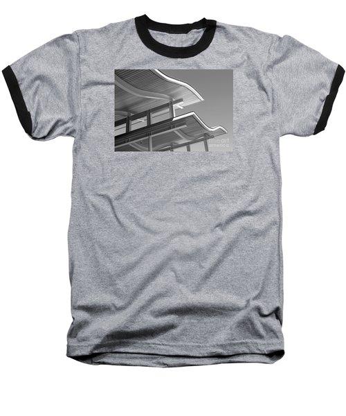 Structure Abstract 7 Baseball T-Shirt