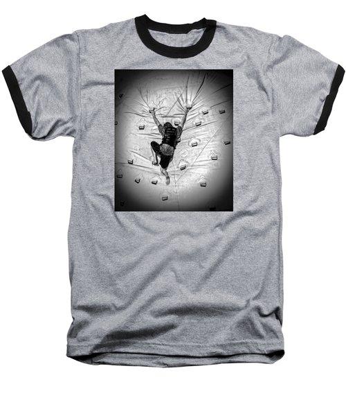 Struggle To Acheive Baseball T-Shirt by Phil Cardamone