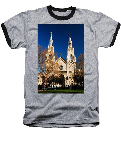 Sts Peter And Paul Baseball T-Shirt by James Kirkikis