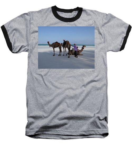 Stubborn Wedding Camels Baseball T-Shirt