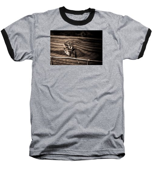Baseball T-Shirt featuring the photograph Stuck by Carlee Ojeda