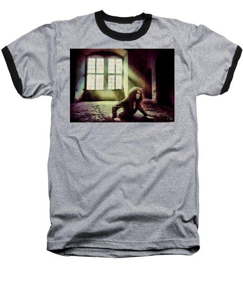 Stuck Baseball T-Shirt by Gun Legler