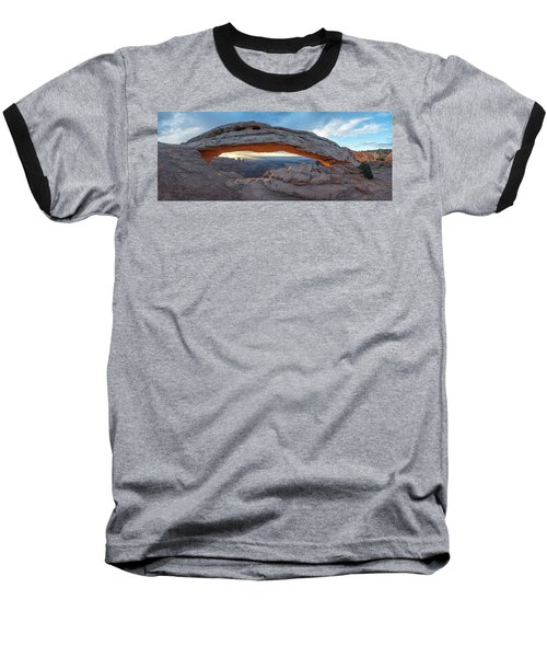 Stuck In A Moment Baseball T-Shirt by Dustin LeFevre