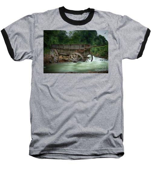Stuck In Time Baseball T-Shirt