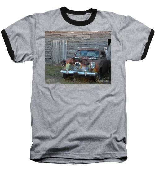 Studebaker Sitting Baseball T-Shirt