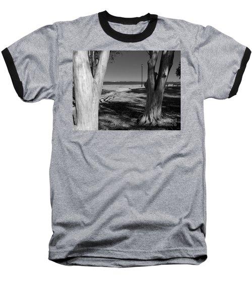 Study In Black And White Baseball T-Shirt
