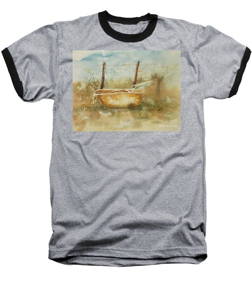 Study Of A Watering Tub Baseball T-Shirt by Vicki  Housel
