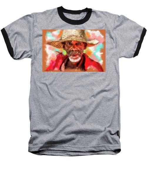 Study Of An Old Man Baseball T-Shirt
