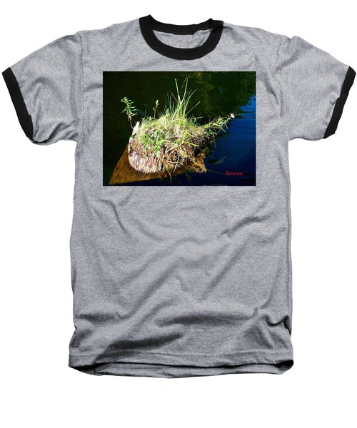 Baseball T-Shirt featuring the photograph Stump Art 11 by Sadie Reneau