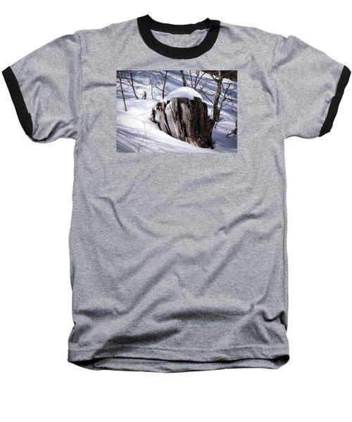 Stump Baseball T-Shirt by Elaine Malott
