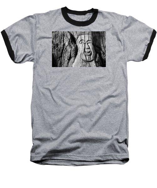 Stump Face 3 Baseball T-Shirt