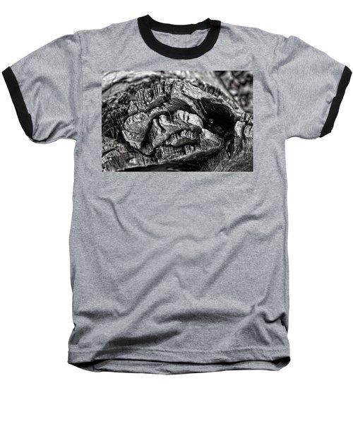 Stump Texture Baseball T-Shirt