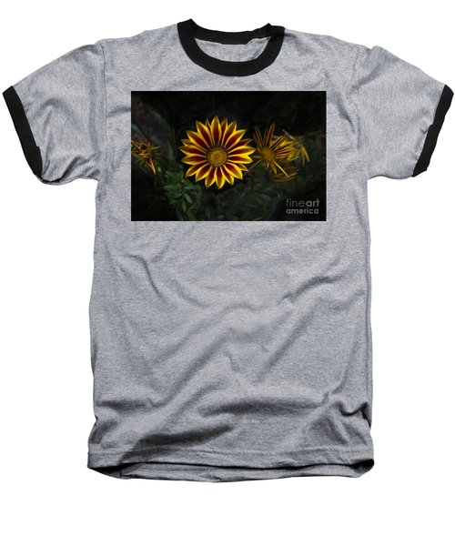 Stunning Flowers Abound Here Baseball T-Shirt